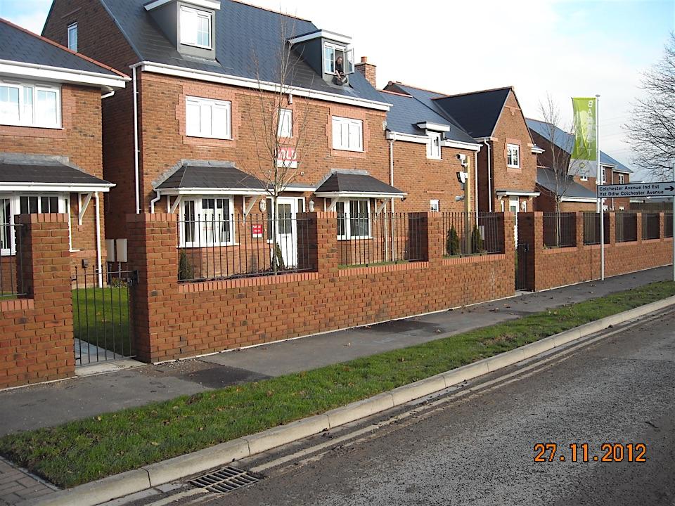 Price fencing landscaping merthyr tydfil for In home design merthyr